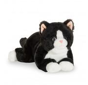 Hermann Teddy Stuffed Animal Cat Black 30 cm