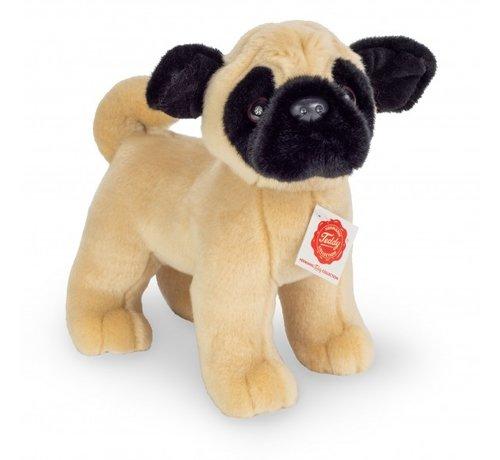 Hermann Teddy Knuffel Hond Mopshond Staand
