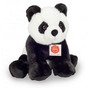 Hermann Teddy Knuffel Panda Zittend