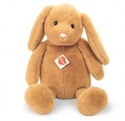 Hermann Teddy Stuffed Animal Hare Sitting Caramel 45 cm