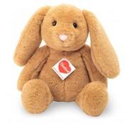 Hermann Teddy Stuffed Animal Hare Sitting Caramel 31 cm
