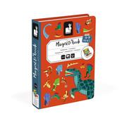 Janod Magneetboek Dino's