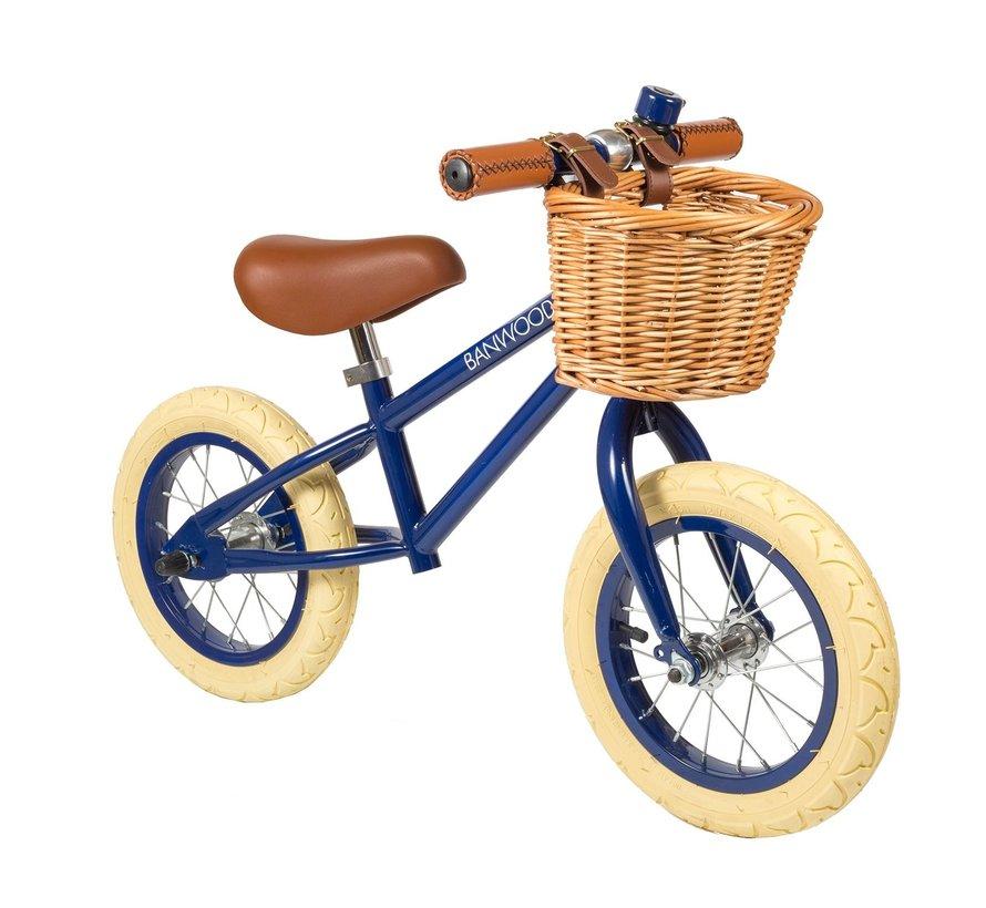 Balance Bike First Go Navy Blue