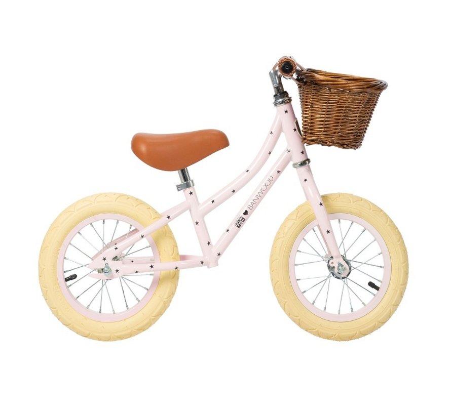 Balance Bike First Go Bonton R Pink