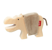 sigikid Wooden Hippo Cudly Wudly