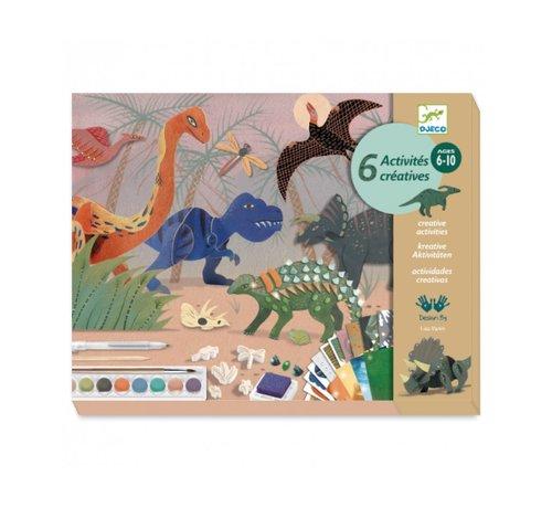 Djeco Knutselset Dino Box