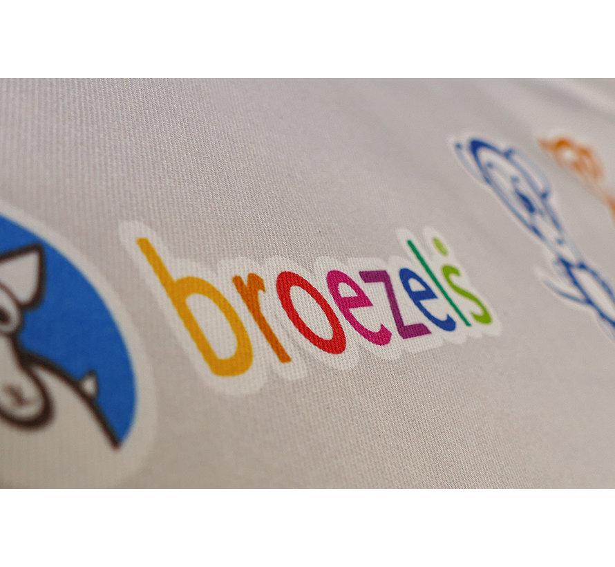 Alfabet Textiel Poster
