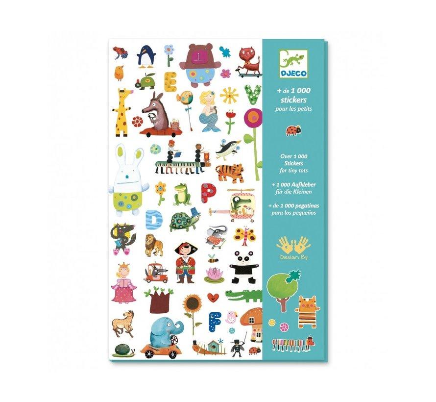 Stickers voor de Kleintjes 1000 stuks