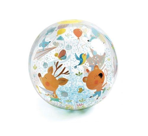 Djeco Speelbal Bubbles Opblaasbaar
