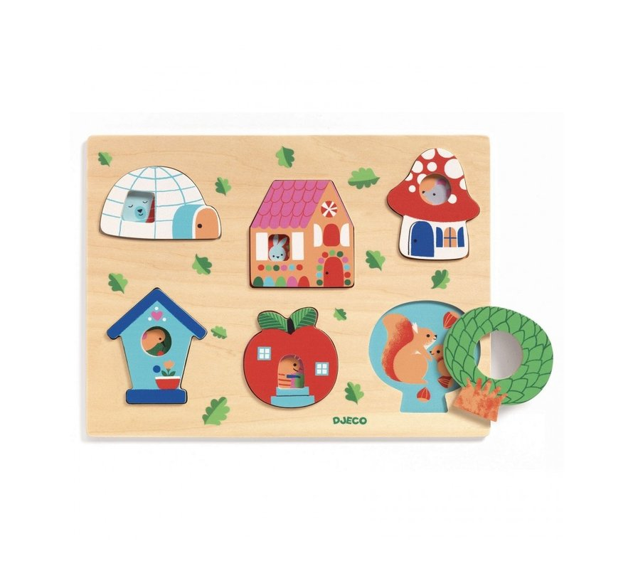 Reliefpuzzel Coucou House