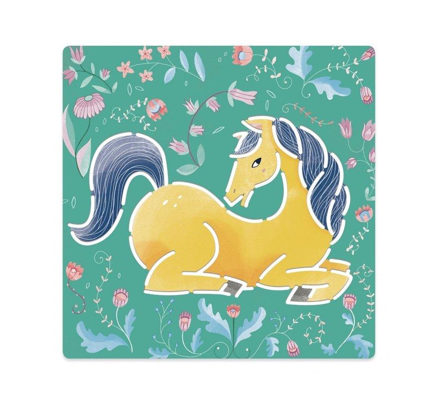 Tekensjablonen Paarden