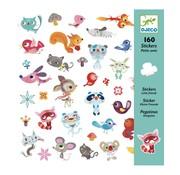 Djeco Paper Stickers Small Friends