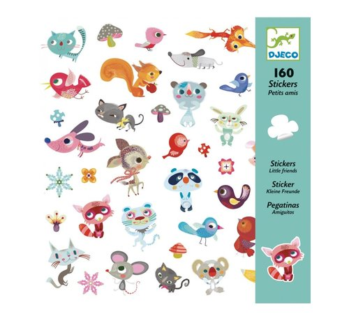 Djeco Stickers Kleine Vriendjes