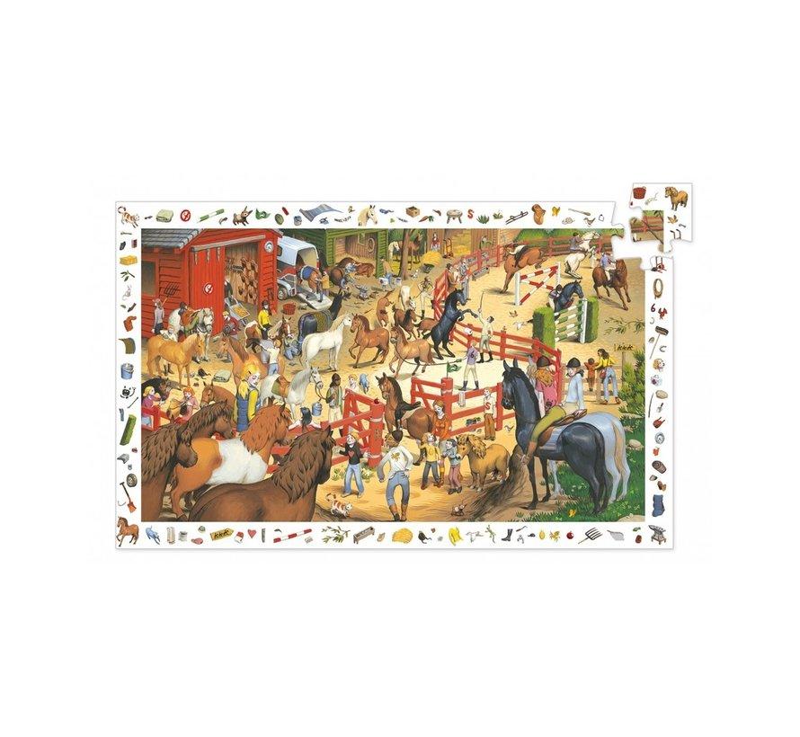 Puzzel Paardrijden 200 pcs