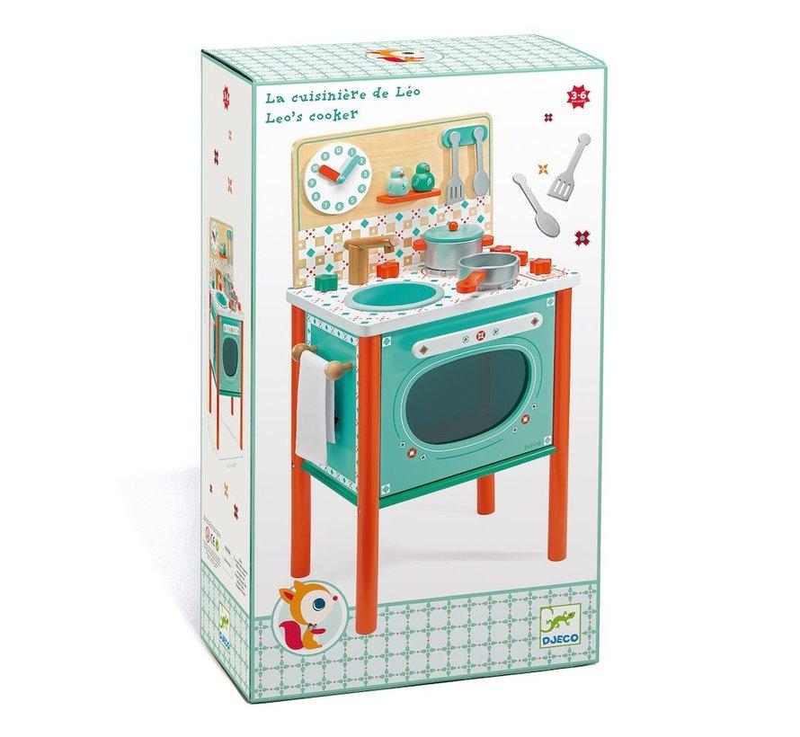 Keukentje Leo's Speelgoedkeuken