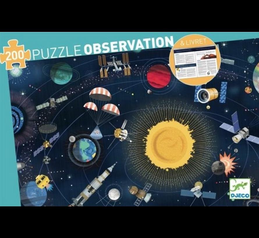 Puzzel Observatie Ruimte 200 pcs