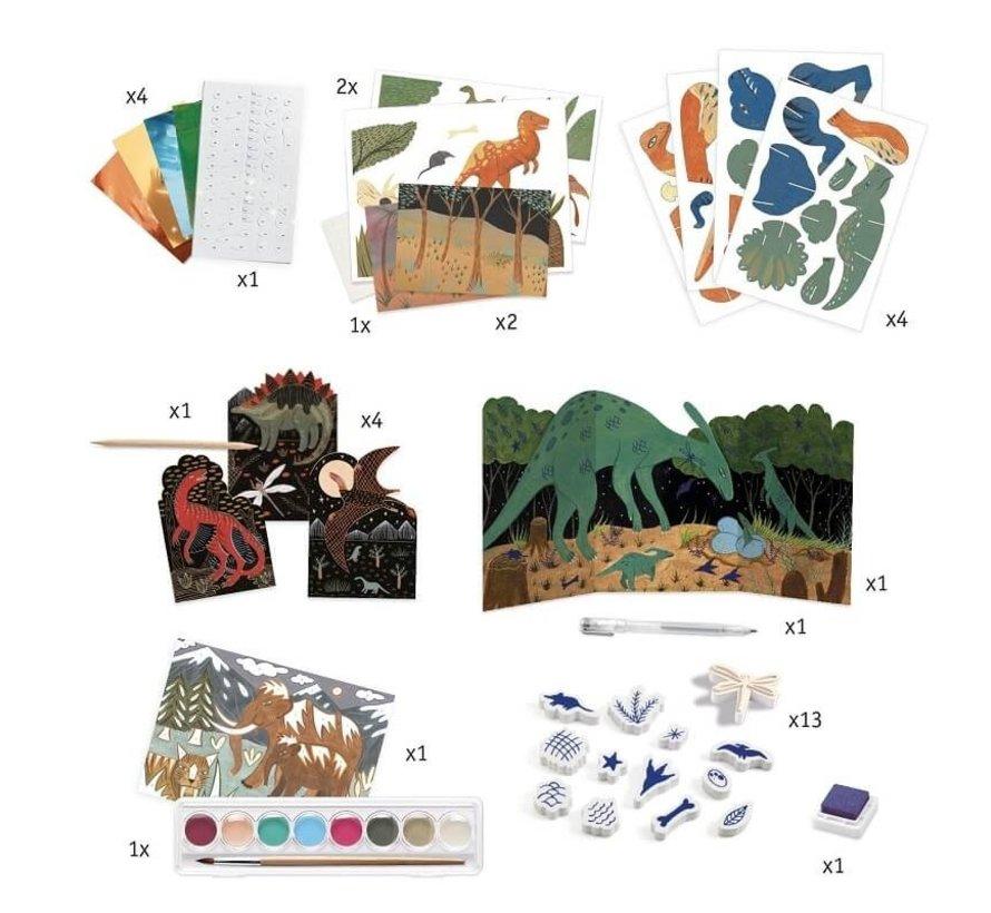 Knutselset Dino Box