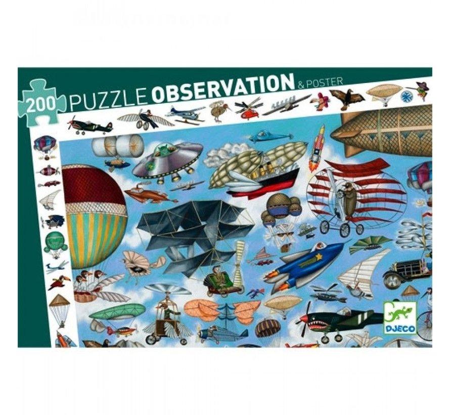 Puzzel Observatie Aero Club 200 pcs