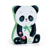 Djeco Silhouette Puzzle Leo the Panda 24 pcs