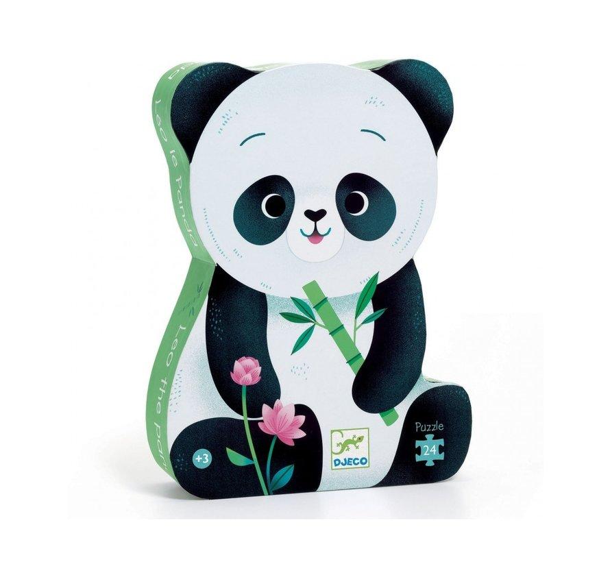 Puzzel Leo de Panda 24 pcs