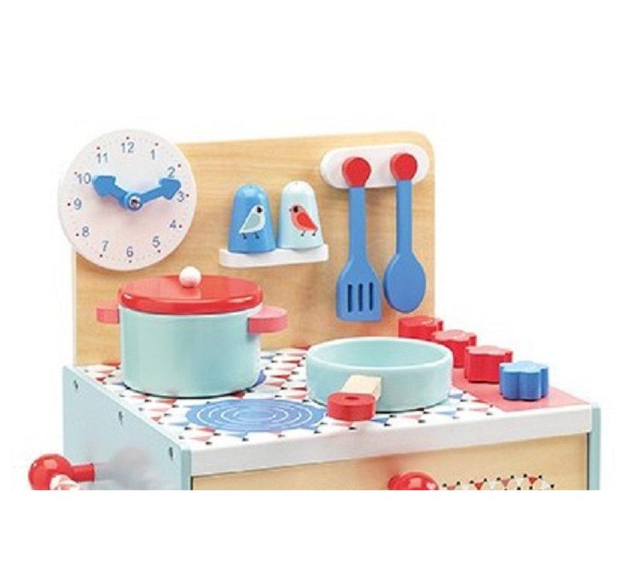 Kinderkeuken Blauw