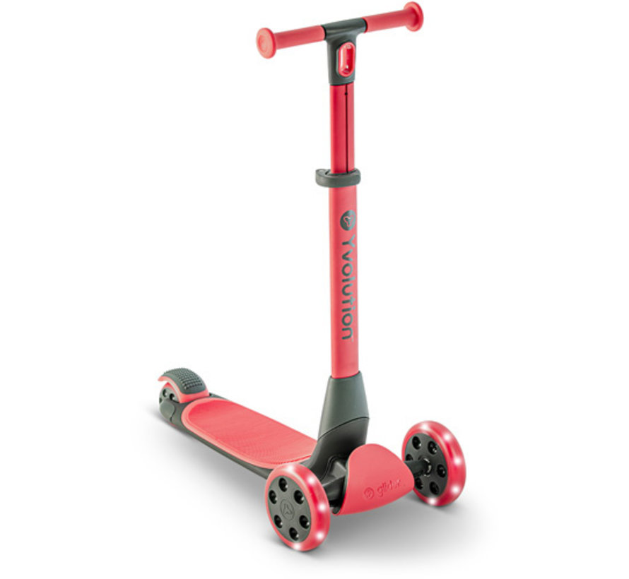 Kids Scooter Y Glider Nua Red