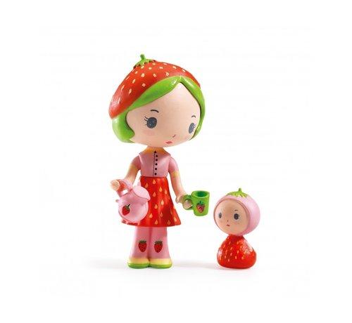 Djeco Speelfiguur Tinyly Berry & Lila