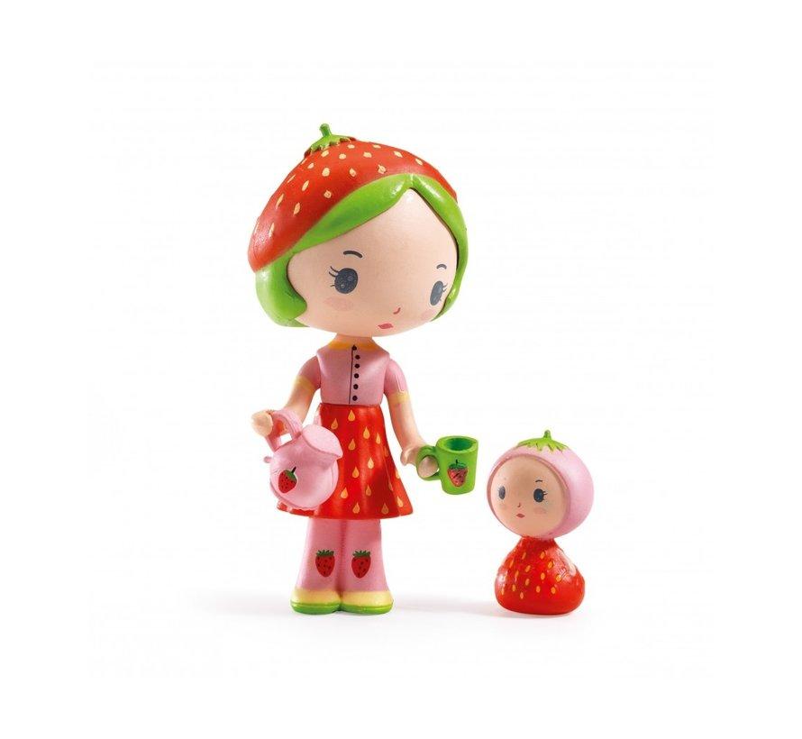 Speelfiguur Tinyly Berry & Lila