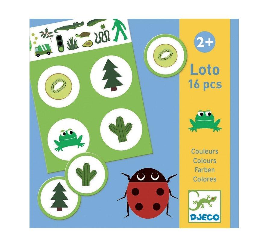 Bingo Lotto Kleuren