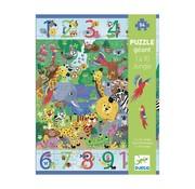 Djeco Puzzel Jungle 54 pcs