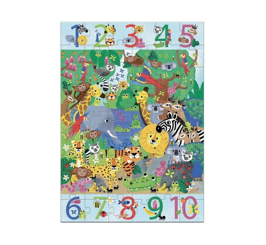 Puzzel Jungle 54 pcs