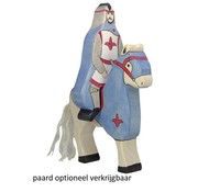 Holztiger Blue Knight with Cloak Riding 80247
