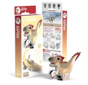 Eugy 3D Cardboard Model Raptor