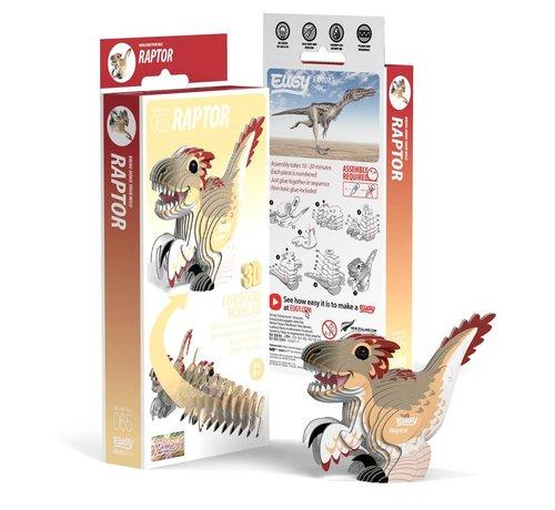 Eugy 3D Bouwpakket Raptor