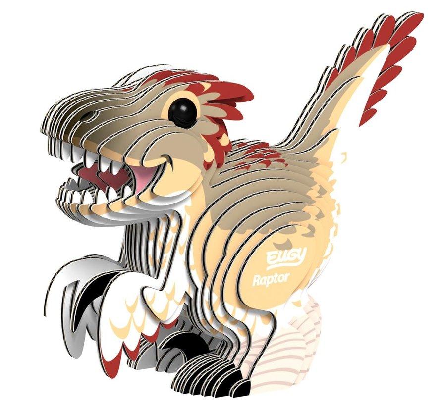 3D Cardboard Model Raptor