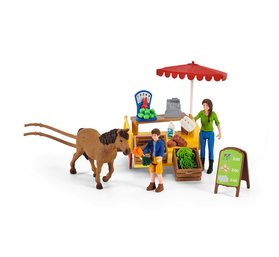 Sunny Day Mobile Farm Stand 42528
