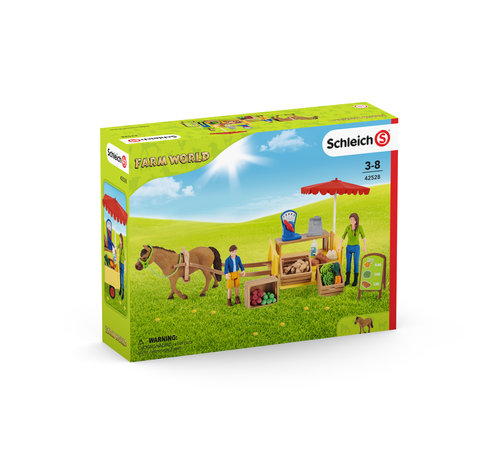 Schleich Sunny Day Mobile Farm Stand 42528