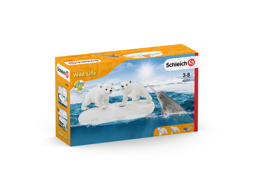 Schleich IJsberen Glijfeestje 42531