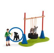 Schleich Puppy Agility Training 42536