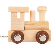 Small Foot Letter Train Wood
