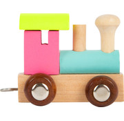 Small Foot Letter Train Coloured