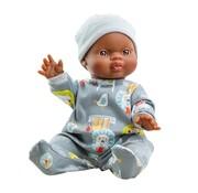Paola Reina Doll Boy Dressed Noe 34 cm