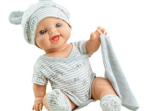 Paola Reina Doll Boy Dressed Carlos 34 cm