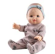 Paola Reina Pop Gordi Meisje Gekleed Pyjama Alicia 34 cm