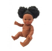 Paola Reina Doll Girl Black Hair 34 cm