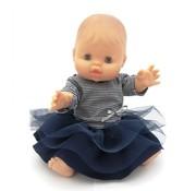 Paola Reina Doll Girl Dressed Breton 34 cm