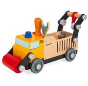 Janod Vrachtwagen Wegenbouw Brico Kids