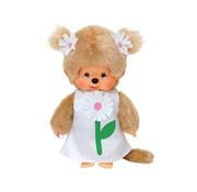 Monchhichi Plush Doll Flower Margaret Dress