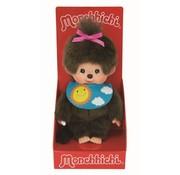 Monchhichi Knuffel Pop Meisje met Slab 20 cm
