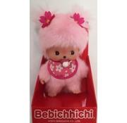 Monchhichi Plush Doll Bebichhichi Cherry Blossom